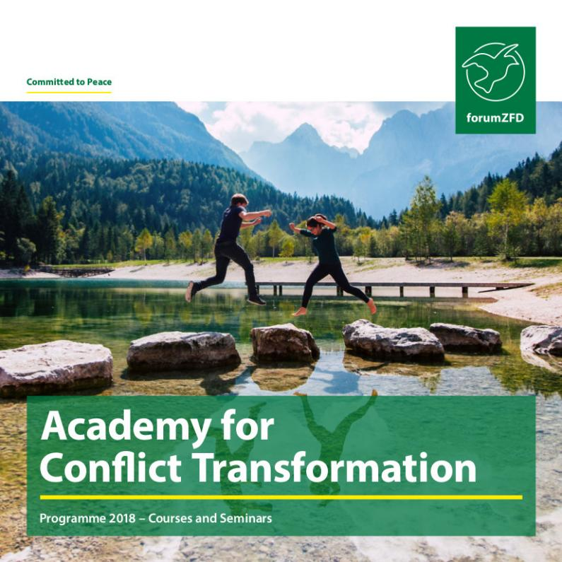 Annual program 2018 of the Academy for Conflict Transformation