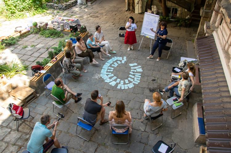 Workshop on NVC for the School of Culture of Neighbourhood in Odesa