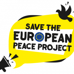 Save the European peace project