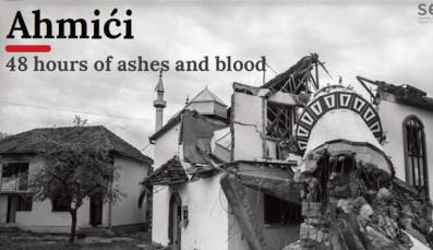 Ahmići 48 hours of ashes and blood