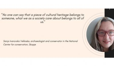 All cultural heritage belongs to each of us