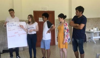 The Democracy & Peacebuilding in Bosnia & Herzegovina youth camp in Prijedor