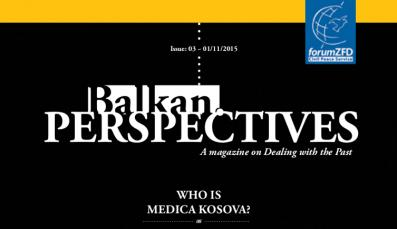 Cover of Balkan.Perspectives, Issue No. 3