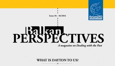 Cover of Balkan.Perspectives, Issue No. 4