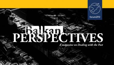Cover of Balkan.Perspectives, Issue No. 8