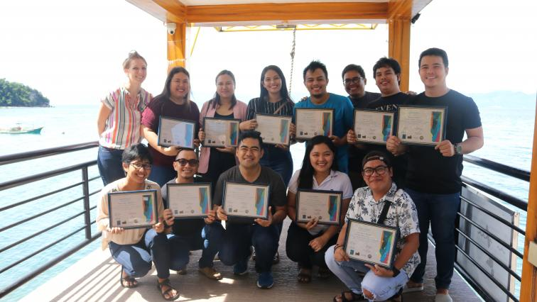 Group picture of the CSJ certified media educators